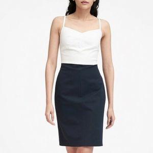 Banana Republic Color Block Sheath Dress, 20, PLUS